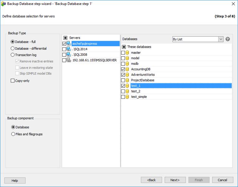 EMS SQL Manager - Outils SQL Server - EMS SQL Backup for SQL