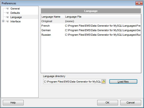 EMS SQL Manager - MySQL Tools - EMS Data Generator for MySQL
