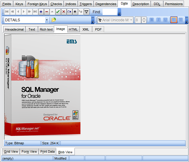 EMS SQL Manager - Oracle Tools - EMS SQL Manager for Oracle