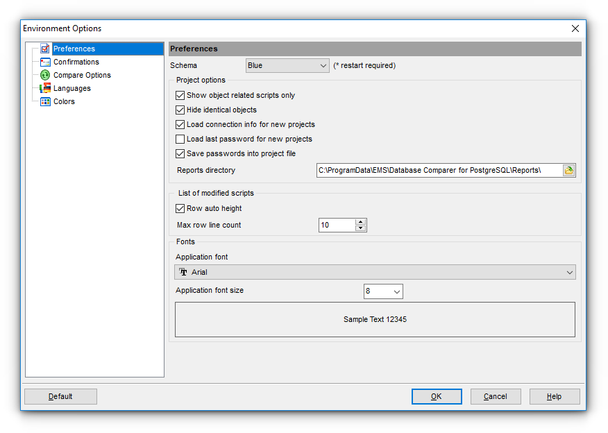 EMS SQL Manager - PostgreSQL Tools - EMS DB Comparer for PostgreSQL