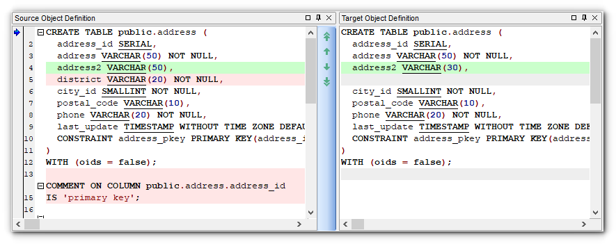 Working with Project - Master and Target Object Definition
