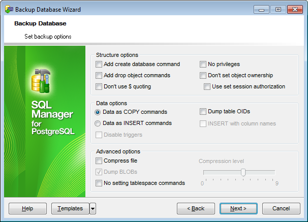 EMS SQL Manager - PostgreSQL Tools - EMS SQL Manager for