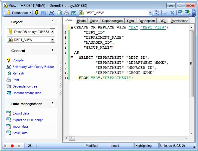 EMS SQL Manager - PostgreSQL Tools - EMS SQL Manager for ...