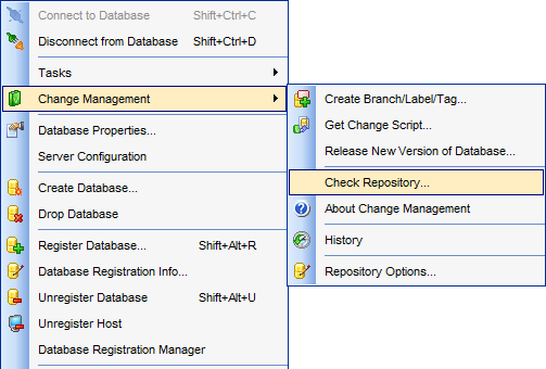 menuChangeManagement_CheckRepository
