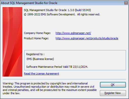 Welcome to SQL Studio - About